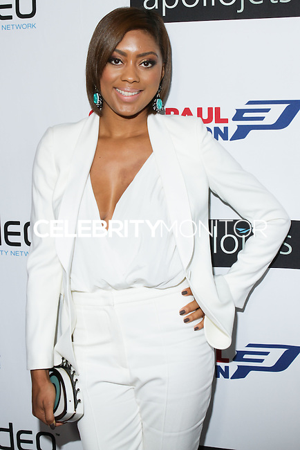 BEVERLY HILLS, CA, USA - OCTOBER 26: Jada Crawley arrives at the CP3 Foundation Celebrity Server Dinner held at Mastro's Steakhouse on October 26, 2014 in Beverly Hills, California, United States. (Photo by Rudy Torres/Celebrity Monitor)