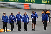 26th August 2021; Spa Francorchamps, Stavelot, Belgium: FIA F1 Grand Prix of Belgium, driver arrival day:  Nikita Mazepin RUS 9, Haas F1 Team