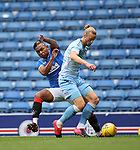 25.07.2020 Rangers v Coventry City: Alfredo Morelos and Declan Drysdale