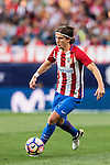 Filipe Luis of Atletico de Madrid in action during their La Liga match between Atletico de Madrid and Granada CF at the Vicente Calderon Stadium on 15 October 2016 in Madrid, Spain. Photo by Diego Gonzalez Souto / Power Sport Images
