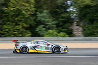 #64 Corvette Racing Chevrolet Corvette C8.R LMGTE Pro, Tommy Milner, Nicholas Tandy, Alexander Sims, 24 Hours of Le Mans , Free Practice 1, Circuit des 24 Heures, Le Mans, Pays da Loire, France