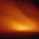 Grass fire near Kingman, Kansas, 1997