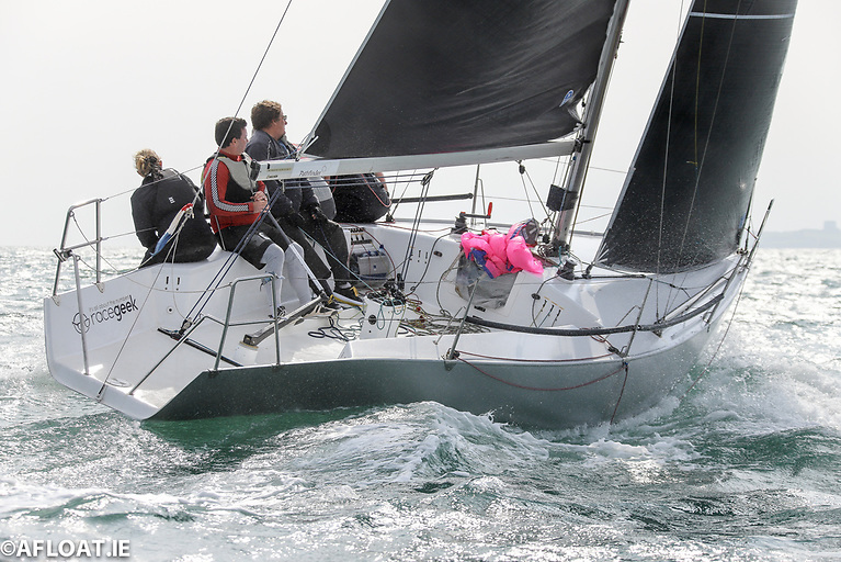 Lets hear it for Wexford! The Quarter Tonner Snoopy brought the ICRA Class 3 Honours home to Courtown Sailing Club. Photo: Afloat