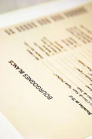 wine list white le caveau des arches restaurant beaune cote de beaune burgundy france