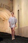 FESTIVAL INTERNATIONAL DE MODE ET DE PHOTOGRAPHIE..Jeunes createurs....Styliste : alexandra verschueren..Lieu : Villa Noailles..Ville : Hyeres..Le : 01 04 2010..© Laurent PAILLIER / photosdedanse.com..All rights reserved