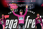 Peter Sagan (SVK) Bora-Hansgrohe takes over the sprints Maglis Ciclamino at the end of Stage 4 of the 103rd edition of the Giro d'Italia 2020 running 140km from Catania to Villafranca Tirrena, Sicily, Italy. 6th October 2020.  <br /> Picture: LaPresse/Gian Mattia D'Alberto   Cyclefile<br /> <br /> All photos usage must carry mandatory copyright credit (© Cyclefile   LaPresse/Gian Mattia D'Alberto)