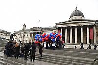 Artists stand up to art world sexism on International Women's Day, London.<br /> <br /> <br /> ©Ash Knotek  D3238  08/03/2017