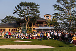 Players in action during the Royal Trophy Europe vs Asia Golf Championship on the Asian Game course at the Dragon Lake Golf Club in Guangzhou, China on 22 December 2013. Photo by Xaume Olleros / The Power of Sport Images