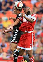 Washington, D.C. - Sunday, June 21, 2015: DC United defeated the New England Revolution 2-1 at RFK Stadium.