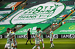 Celtic v St Johnstone…12.05.21  SPFL Celtic Park<br />A banner thanking Scott Brown on display during his last game at Celtic Park<br />Picture by Graeme Hart.<br />Copyright Perthshire Picture Agency<br />Tel: 01738 623350  Mobile: 07990 594431