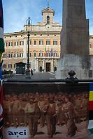 30.10.2020 - Curiamo La Socialità - Let's Cure Sociality: ARCI Demo Outside The Italian Parliament