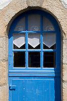 Europe/France/Bretagne/56/Morbihan/Golfe du Morbihan/Ile-Aux-Moines/Locmiquel: Détail d'une maison du village