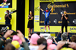 Mark Cavendish (GBR) Deceuninck-Quick Step wins Stage 4 of the 2021 Tour de France, running 150.4km from Redon to Fougeres, France. 29th June 2021.  <br /> Picture: A.S.O./Pauline Ballet   Cyclefile<br /> <br /> All photos usage must carry mandatory copyright credit (© Cyclefile   A.S.O./Pauline Ballet)
