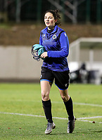 Frieke Temmerman (17) of Club Brugge pictured after the warm up before a female soccer game between FC Femina White Star Woluwe and Club Brugge YLA on the eleventh matchday of the 2020 - 2021 season of Belgian Scooore Womens Super League , Friday 22 January 2021  in Woluwe , Belgium . PHOTO SPORTPIX.BE   SPP   SEVIL OKTEM