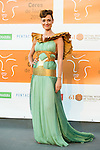 Laura Pamplona poses for the photographers during 2015 Theater Ceres Awards photocall at Merida, Spain, August 27, 2015. <br /> (ALTERPHOTOS/BorjaB.Hojas)