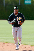 Jermaine Mitchell - Oakland Athletics - 2009 spring training.Photo by:  Bill Mitchell/Four Seam Images