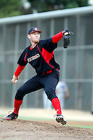 Stephen Strasburg - 2009 San Diego State Aztecs - Pitching against the Texas Christian Horned Frogs at Tony Gwynn Stadium, San Diego, CA - 04/24/2009.Photo by:  Bill Mitchell/Four Seam Images