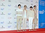 SoReal, Jun 07, 2014 : K-pop group SoReal pose before the Dream Concert in Seoul, South Korea. (Photo by Lee Jae-Won/AFLO) (SOUTH KOREA)