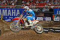 Gavin Faith / Honda<br /> 2015 Round 5 / Class : SX1<br /> Australian Supercross Championship / AUS-X Open<br /> Sydney NSW Saturday 28 November 2015<br /> © Sport the library / Jeff Crow