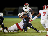 Edgewater Eagles vs IMG Ascenders Varsity Football on September 17, 2020 in Bradenton, Florida. IMG defeated Edgewater 48-7. (Mike Janes Photography)