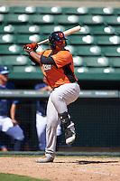 Baltimore Orioles Jean Carrillo (9) during an instructional league game against the Tampa Bay Rays on September 25, 2015 at Ed Smith Stadium in Sarasota, Florida.  (Mike Janes/Four Seam Images)