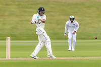20th November 2020; John Davies Oval, Queenstown, Otago, South Island of New Zealand. NZ A's Rachin Ravindra pulls for runs
