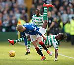 31.03.2019 Celtic v Rangers: Ross McCrorie and Boyata