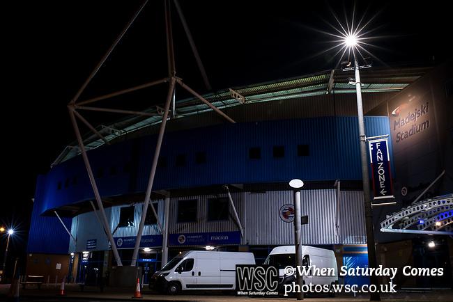 Reading 0 Luton Town 1, 15/09/2020. Madejski Stadium, Carabao Cup 2nd Round. Photo by Simon Gill.