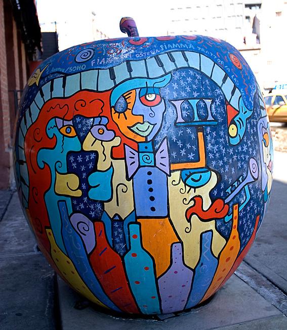 Artwork, Vento Restaurant, New York, New York