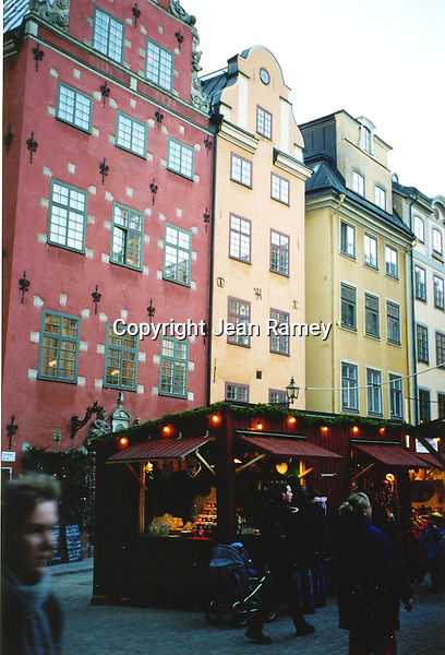 Gamla Stan Christmas Market, Stockholm, Sweden