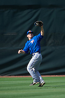 Toronto Blue Jays Andrew Guillotte (1) during an instructional league game against the Philadelphia Phillies on October 3, 2015 at the Carpenter Complex in Clearwater, Florida.  (Mike Janes/Four Seam Images)