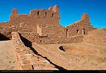 Sacristy, Patio and Kiva, Mission San Gregorio de Abo, Salinas Pueblo Missions National Monument, Mountainair, New Mexico