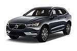 2018 Volvo XC60 Inscription 5 Door SUV angular front stock photos of front three quarter view