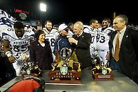 San Francisco, California - January 9, 2010: Kraft Fight Hunger Bowl in San Francisco, California, January 9, 2011. Nevada defeated Boston College 20-13.