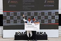 Race 1, GT3 USA, Yokohama Hard Charger Award, #56 Topp Racing, Porsche 991 / 2018, GT3P: David Baker (M)