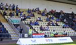 17.07.2021 Rangers B v Bo'ness Utd: Rangers fans in the stand at Dumbarton