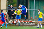 Action from Classic v Dingle Bay Rovers in the Denny KDL Challenge Cup