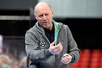 11-02-2021: Basketbal: Donar Groningen v Apollo Amsterdam: Groningen  Apollo coach Edwin van der Hart