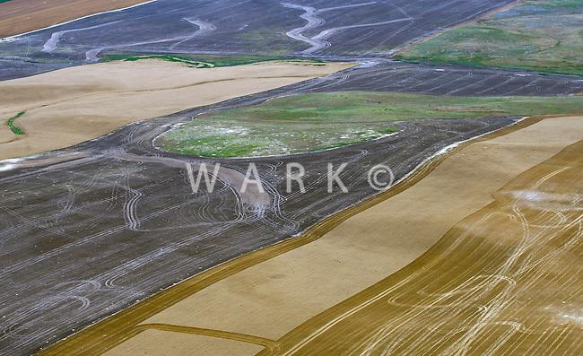Chaos in Farmland. Near Limon, Colorado. July 2014
