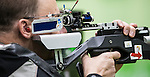 Doug Blessin, Rio 2016 - Shooting Para Sport // Paratir.  <br /> Doug Blessin competes in the mixed 10m air rifle prone SH2 event // Doug Blessin participe à l'épreuve SH2 sujette à la carabine à air comprimé de 10 m. 13/09/2016.