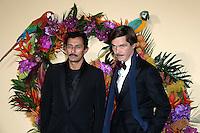 Haider ACKERMANN - Elie TOP - Gala d'ouverture de l'Opera de Paris - 24 septembre 2016 - Opera Garnier Paris - France