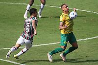 Rio de Janeiro (RJ), 06/06/2021  - Fluminense-Cuiabá - Jogador do Cuiabá,durante partida contra o Fluminense,válida pela 2ª rodada do Campeonato Brasileiro 2021,realizada no Estádio de São Januário,na zona norte do Rio de Janeiro,neste domingo (06).