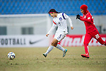IR Iran plays against Korea Republic during the AFC U-16 Women's Championship China 2015 Group A match at the Hankou Culture & Sports Centre Stadium on 08 November 2015 in Wuhan, China. Photo by Lucas Schifres / Power Sport Images