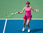 Belinda Bencic (SUI) loses to Shuai Peng (CHN) 6-2, 6-1 at the US Open being played at USTA Billie Jean King National Tennis Center in Flushing, NY on September 2, 2014
