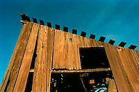 Old barn, 1987.   &#xA;<br />