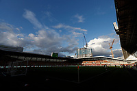 1st October 2020; Brentford Community  Stadium, London, England; English Football League Cup, Carabao Cup Football, Brentford FC versus Fulham; General view of inside Brentford Community Stadium before kick off
