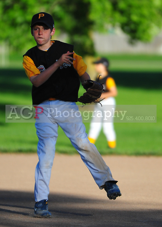 The PNLL AAA Pirates at the Pleasanton Sports Park Tuesday June 1, 2010. (Photo by Alan Greth)