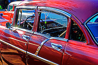 Old colorful cars