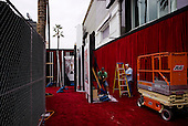 Los Angeles, <br /> Hollywood, California<br /> February 21, 2015<br /> <br /> Preparing for the 87th Academy Awards at the Dolby Theater.
