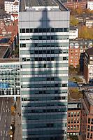 Deutschland, Hamburg, Michel, St. Michaelis, Schatten, Bürogebäude, Deutscher Ring, Büro